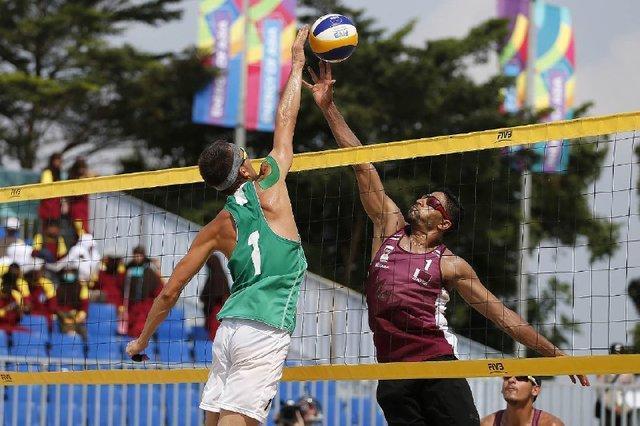 صعود والیبالیست های ساحلی الف و ب ایران به مرحله حذفی