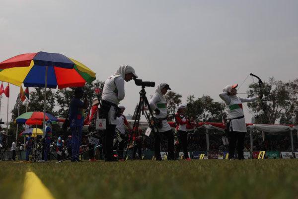 تیم کامپوند بانوان ایران از صعود به فینال بازماند