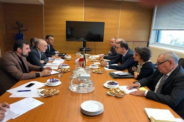 علی اکبر صالحی با رئیس کمیسیون انرژی اتمی فرانسه دیدار کرد