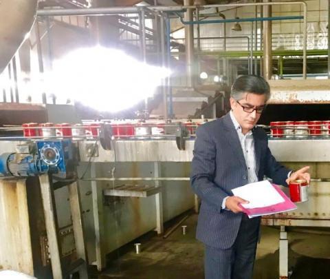 اخطار برای درج نکردن قیمت به چهار کارخانه رب گوجه فرنگی در مشهد