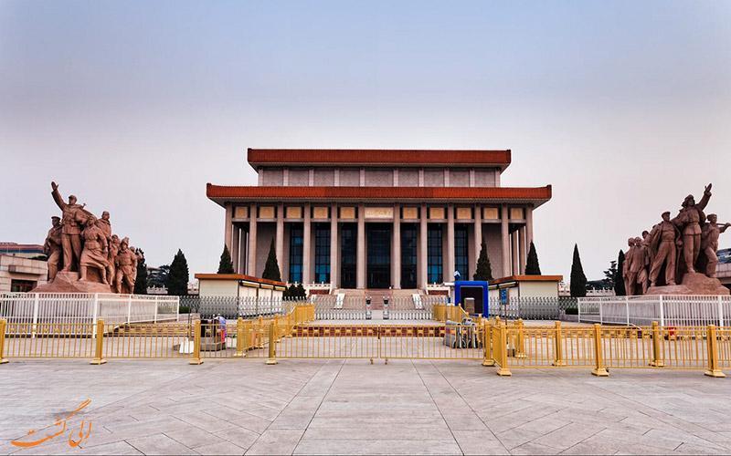آشنایی با میدان تیان آنمن پکن اولین مقصد در تور چین
