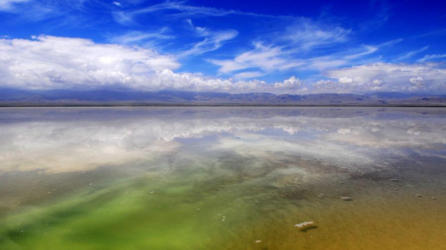 آشنایی با دریاچه نمک Chaka چین