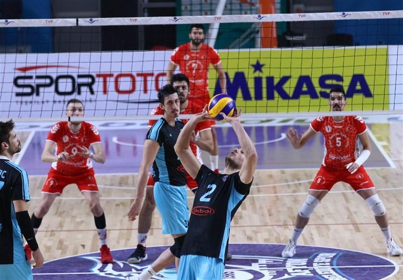 لیگ والیبال ترکیه، پیروزی زراعت بانک در خانه حریف