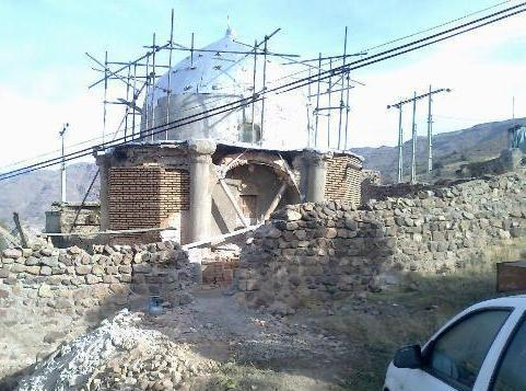 مقبره شیخ کشف الدین انصاری در خلخال مرمت می گردد