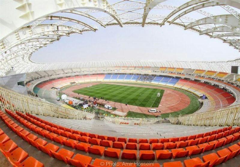 آنالیز وضعیت استادیوم نقش دنیا با حضور وزیر ورزش