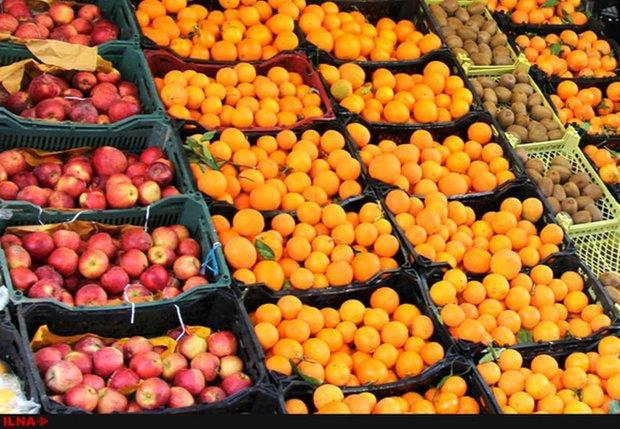 توزیع میوه عیداز 25اسفند، 50درصد خرید میوه مربوط به مرکز استان است