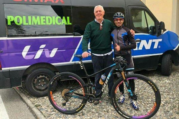 ملی پوش دوچرخه سواری ایران به یک تیم ایتالیایی پیوست