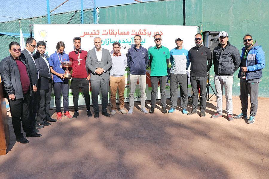 پویش جوانان مهذب نیا (ب) صاحب عنوان قهرمانی لیگ آینده سازان تنیس شد