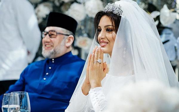 ازدواج سلطان 50 ساله مالزی با دختر شایسته روسیه