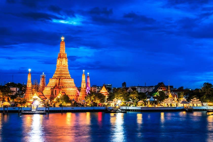 مکان های دیدنی در بانکوک تایلند