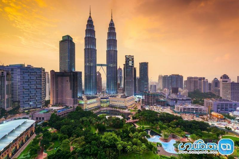شهرهای مالزی و موقعیت جغرافیایی مالزی