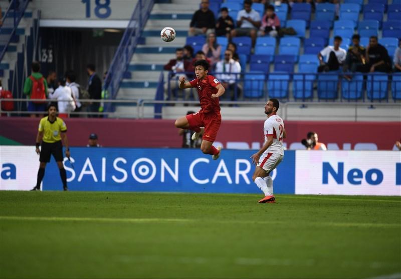 جام ملت های آسیا، دیدار اردن و ویتنام به وقت اضافه رفت