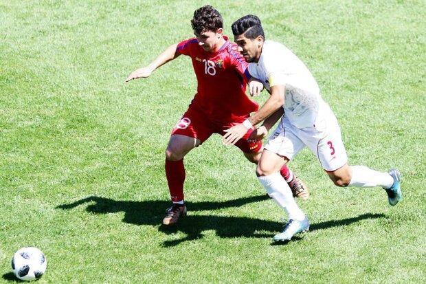 پیروزی تیم فوتبال جوانان ایران مقابل اندونزی