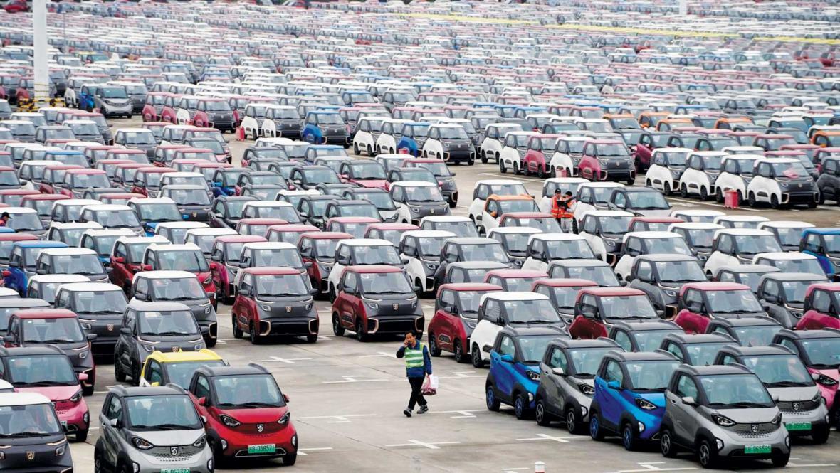 فروش حیرت انگیز برقی ها در چین