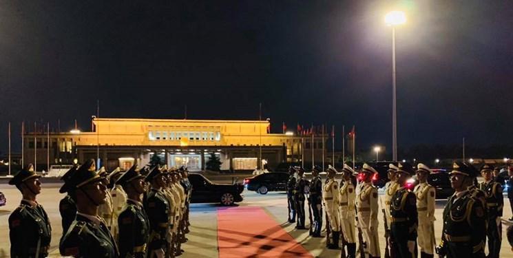 رئیس جمهور قزاقستان وارد پکن شد