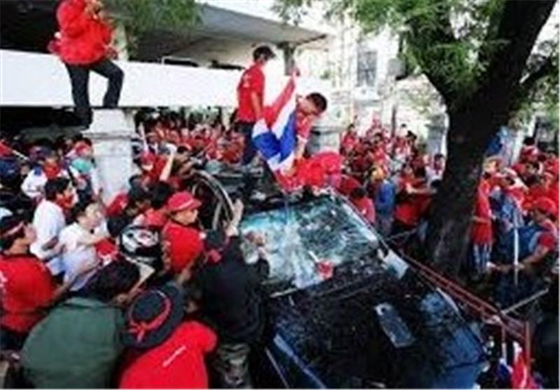 تشدید تنش های سیاسی در تایلند همزمان با ادامه اعتراضات مخالفان