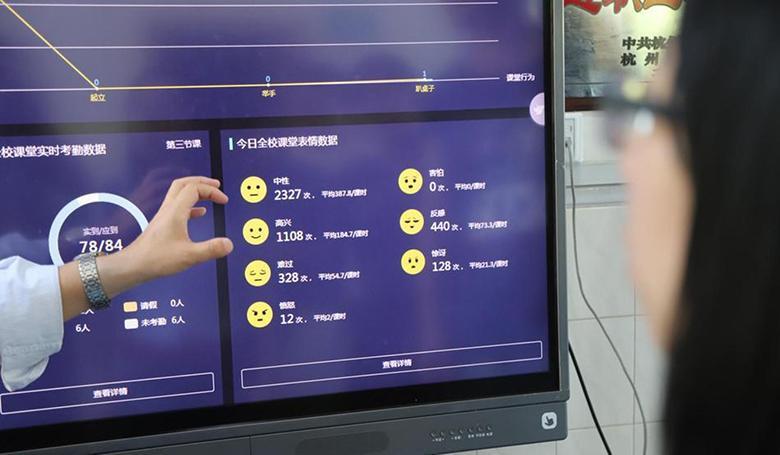 شناسایی دانش آموزان حواس پرت با سیستم های تشخیص چهره در کلاس های مدارس چین