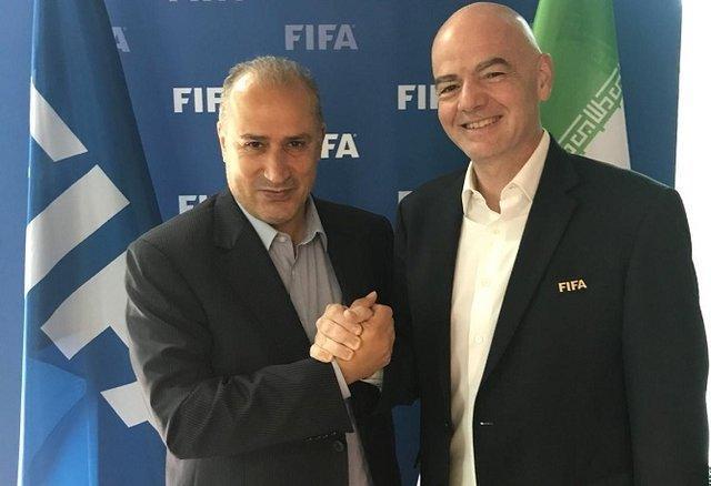 بیانیه جدید رئیس فیفا در خصوص حضور زنان ایرانی در استادیوم