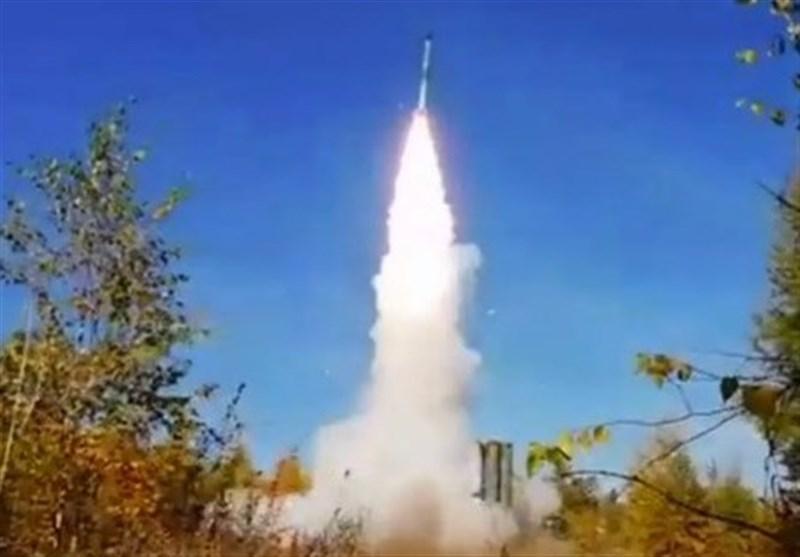 شلیک موشک های اس-400 در روسیه