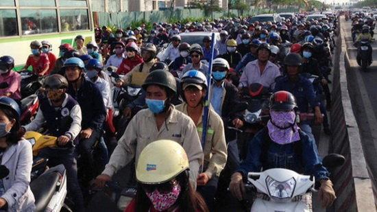 احتمال ممنوعیت تردد موتورسیکلت در پایتخت ویتنام