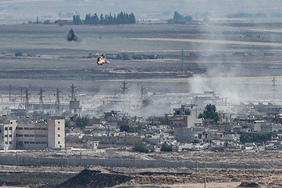 حرکت ارتش سوریه به سمت کوبانی