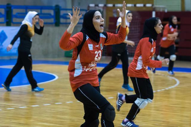 تغییر همگروه بانوان ایران در رقابت های آسیایی هندبال