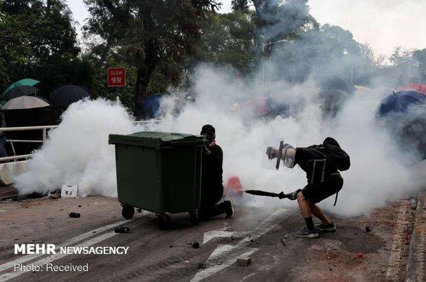 حمایت از خشونت و آشوب در هنگ کنگ مورد استقبال نیست