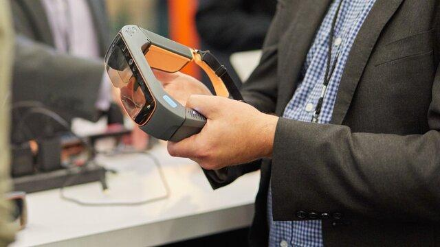 طراحی کوچک ترین عینک واقعیت افزوده جهان