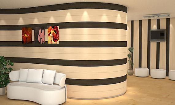 استفاده از دیوار پوش در طراحی دکوراسیون منزل