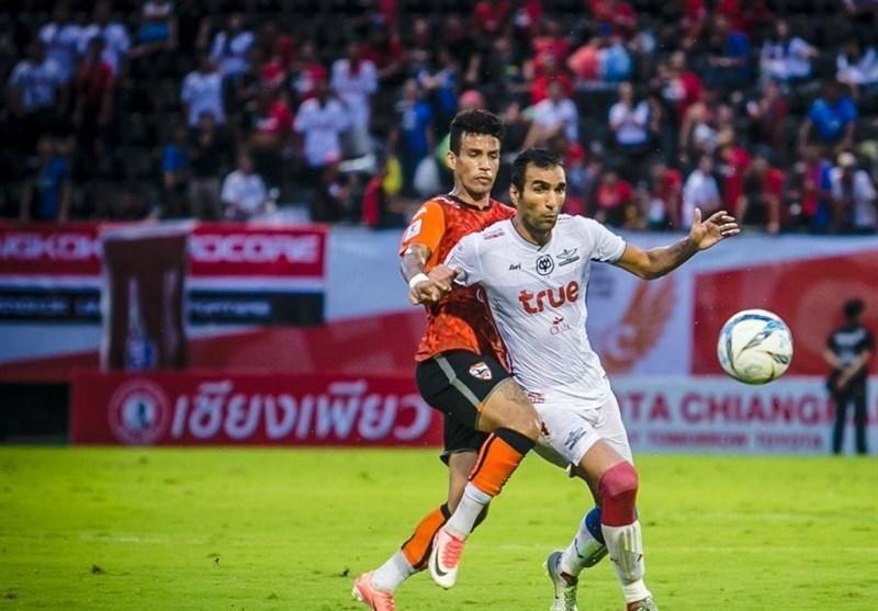 پیروزی ارزشمند بانکوک یونایتد با بازی 59 دقیقه ای پولادی