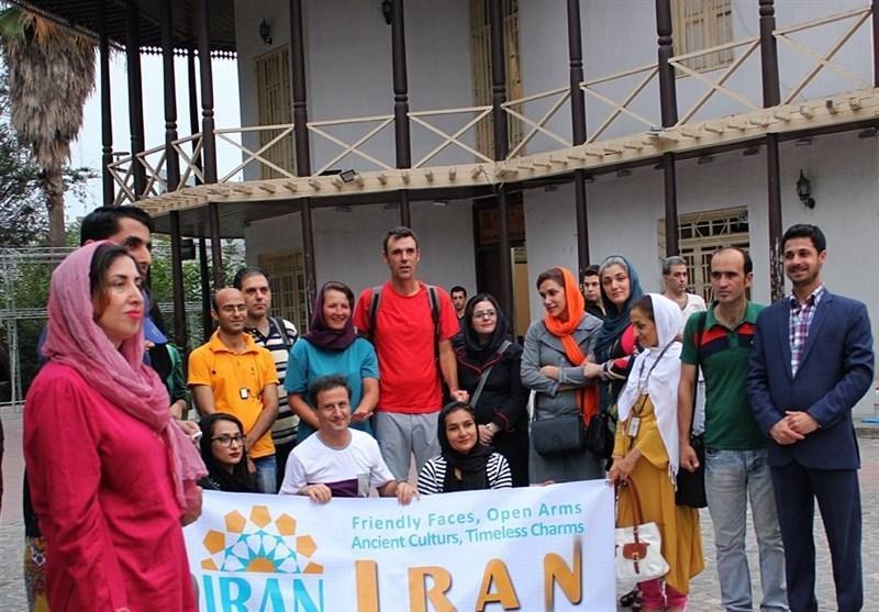 ایران گردی، مد روز جوانان اروپا، دورهمی با توریست های جوان