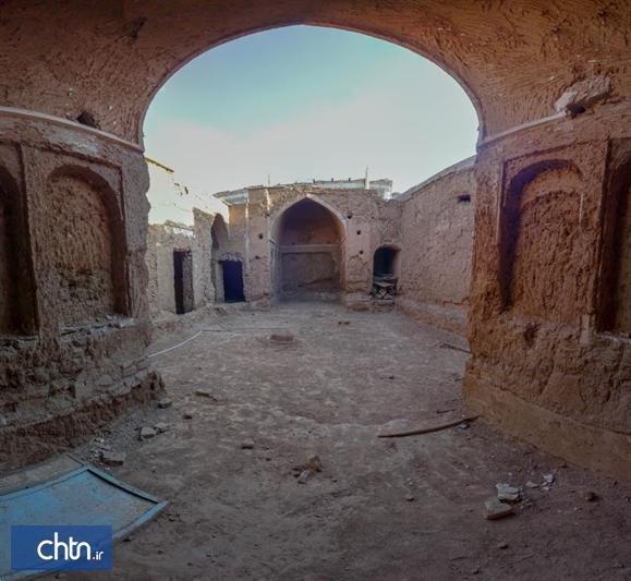 مرمت خانه تاریخی شهابی بشرویه با مشارکت مالک