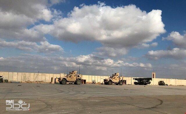 اخباری از هدف قرار دریافت مجدد اردوگاه التاجی بغداد