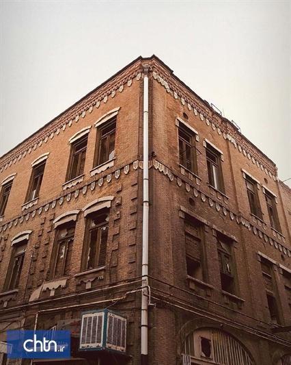 پیشرفت 80درصدی مرمت و سامان دهی جداره تاریخی گراندهتل تبریز