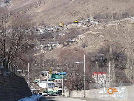 معرفی آب گرم لاریجان