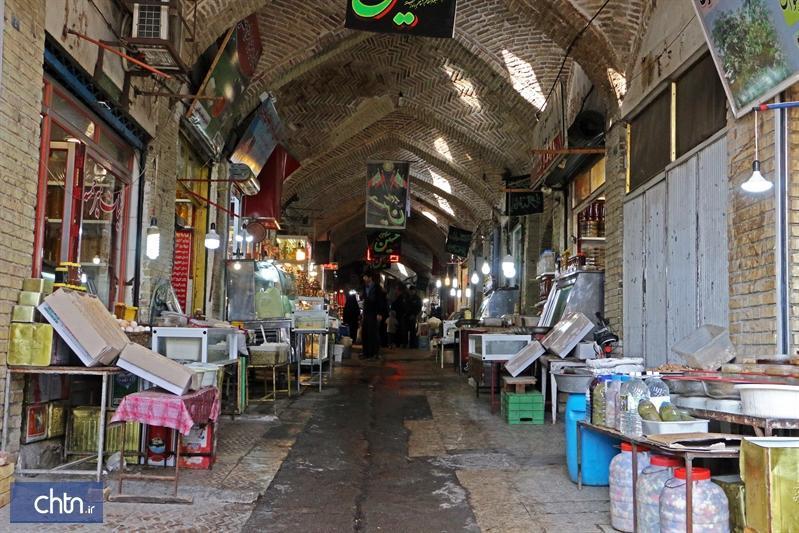 شروع مرمت سه راسته در مجموعه بازار تاریخی زنجان