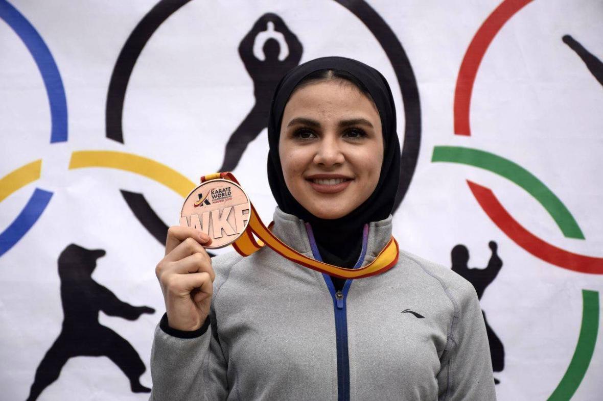 خبرنگاران بهمنیار: هدفم کسب بهترین نتیجه در المپیک است