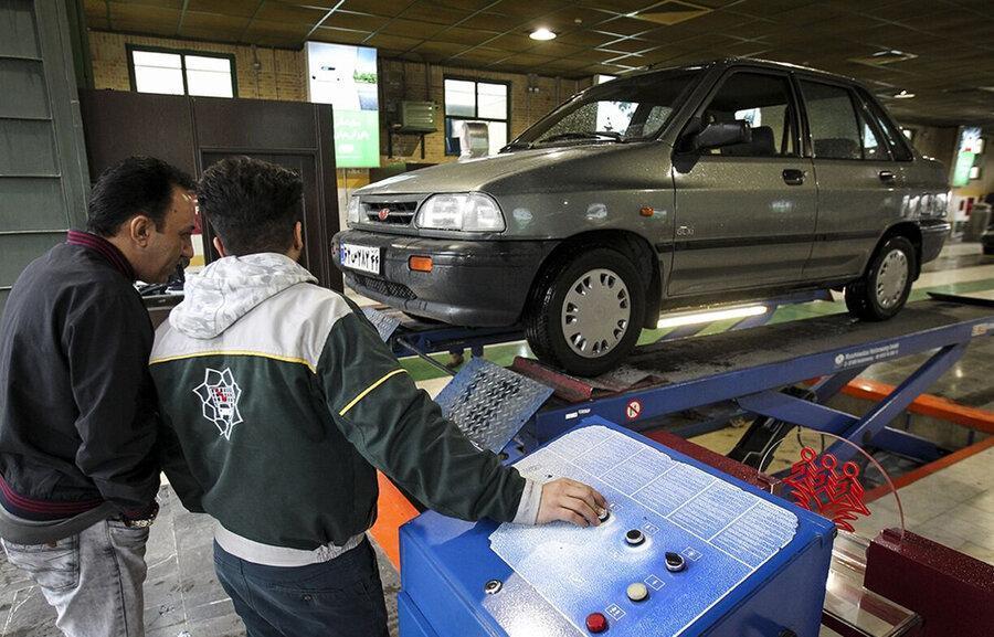 خودروهای فاقد معاینه فنی از 15 اردیبهشت جریمه می شوند