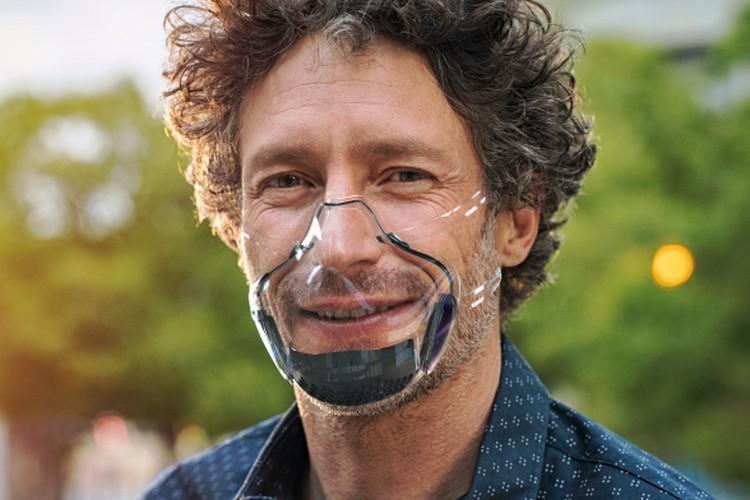 ماسک شفاف ضد کرونا هم آمد