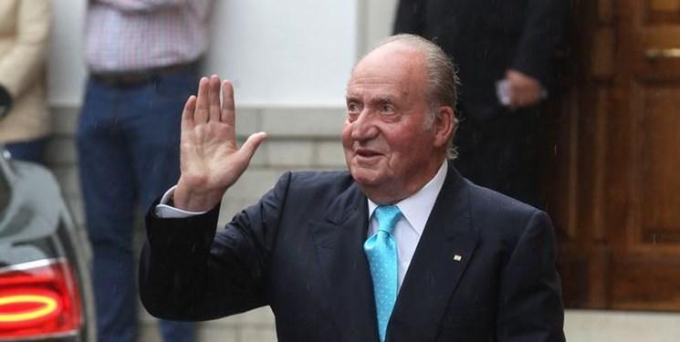 پادشاه سابق اسپانیا این کشور را ترک کرد
