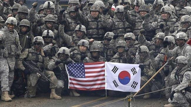 خودروی نظامی آمریکا جان چهار شهروند کره جنوبی را گرفت، عکس