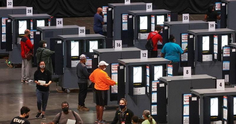 مشارکت در انتخابات زودهنگام ریاست جمهوری آمریکا، 10 میلیون نفر رای دادند