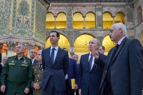 تمجید پوتین از مسلمانان در سفر به سوریه