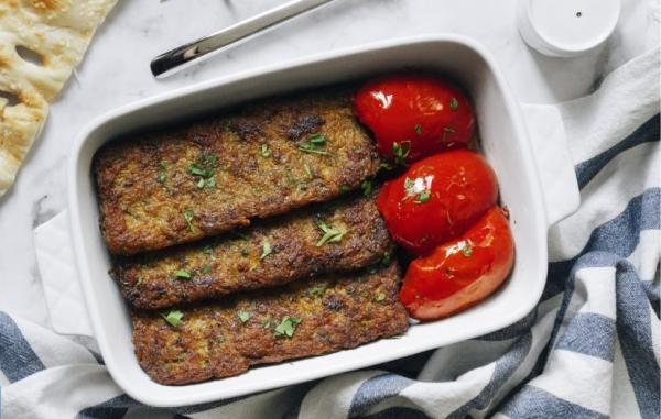 طرز تهیه کتلت گوشت ترد و لذیذ با سیب زمینی خام